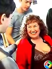 Mature lady is full of passion and one dick is not enough for her anymore as she needs three